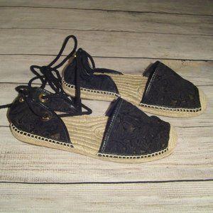 Michael Michael Kors Tied Up Espadrilles Sandals